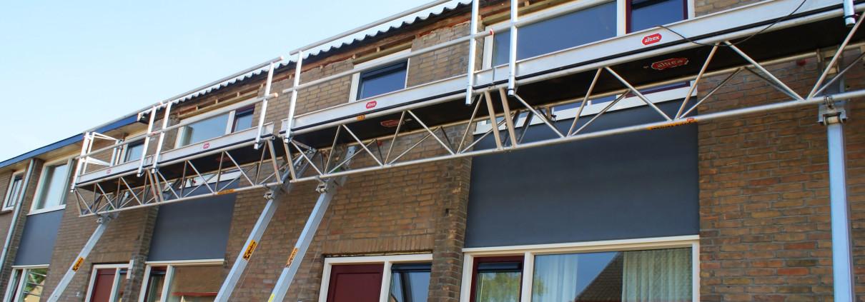 Opduwsteigers Zijlstra verhuur renovatie woningen Dokkum
