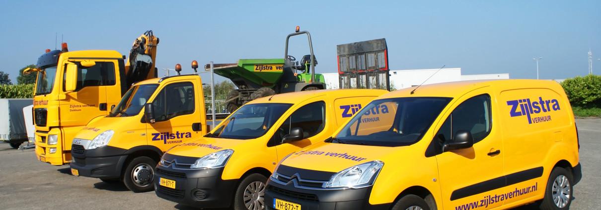 Transport naar locatie - Partners Zijlstra verhuur Dokkum